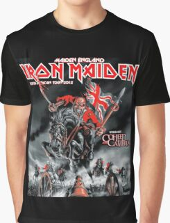 IRON MAIDEN COHEED CAMBRIA Graphic T-Shirt