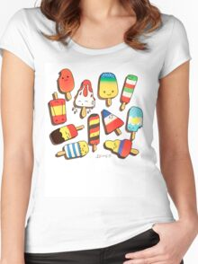 WORLD CUP 2014 LOLLIES Women's Fitted Scoop T-Shirt