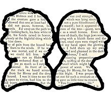 Sherlock and Watson - BBC Photographic Print
