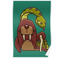 The Walrus and the Anaconda Poster