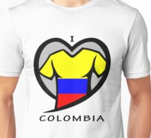 I LOVE COLOMBIA Unisex T-Shirt