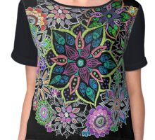 Circle of Life Chiffon Top