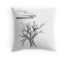 barren Throw Pillow