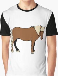 Icelandic Horse Graphic T-Shirt