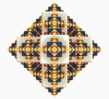 Navajo Cubes [ iphone / ipad / case / mug / shirt ] One Piece - Short Sleeve