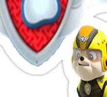 Paw Patrol Air Pups - Rubble Badge Sticker