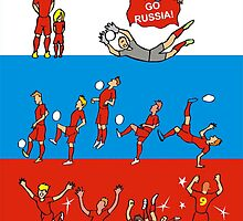 World Cup RUSSIA 2014 by colortown