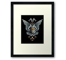 Winged Knight Framed Print