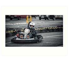 Go Kart Art Print