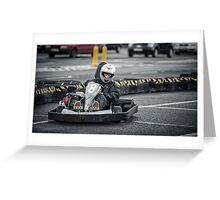 Go Kart Greeting Card