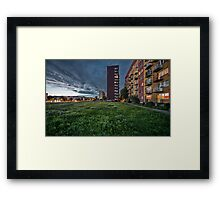 Blocks Framed Print