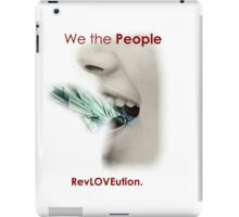RevLOVEution design. Awesome! iPad Case/Skin