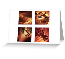 Gnar Ability Icons Greeting Card