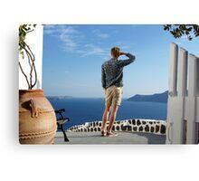 Greek paradise Canvas Print