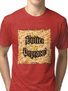 Butter Popcorn by Jeronimo Rubio Photography 2016 Tri-blend T-Shirt