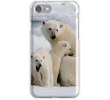 Polar Bear and Cubs    iPhone Case/Skin