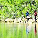 Fishing by marilyn diaz