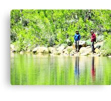 Fishing Canvas Print