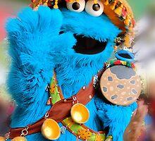 Cookie Monster Says hi by Cristy Hernandez