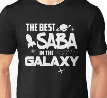 The Best Saba in the Galaxy - Sci-Fi Hebrew Jewish Gift Unisex T-Shirt