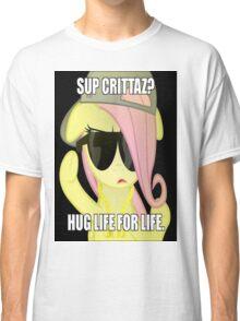 Hug Life - Fluttershy Classic T-Shirt