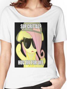 Hug Life - Fluttershy Women's Relaxed Fit T-Shirt