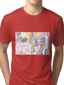 Rainbowgirl by kolaStyles Tri-blend T-Shirt