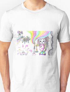 Rainbowgirl by kolaStyles T-Shirt