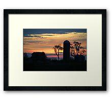 Prairie Rise Framed Print