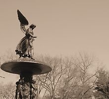 Angel of Central Park NYC by Jimmy McHugh