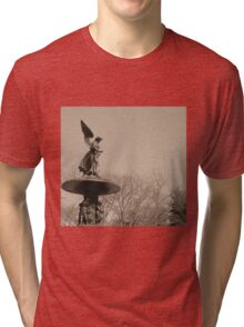 Angel of Central Park NYC Tri-blend T-Shirt