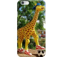 Athletic Giraffe iPhone Case/Skin