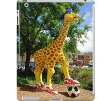 Athletic Giraffe iPad Case/Skin