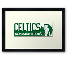 Boston Celtics Basketball NBA Framed Print