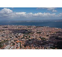 Flying Over Lisbon, Portugal Photographic Print