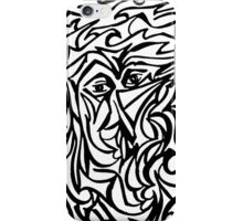 Pinocchio abstract  iPhone Case/Skin