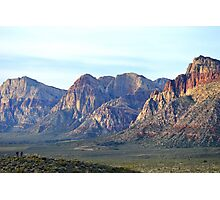 """Red Rock Canyon - Scale"" Photographic Print"