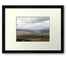 Inch Island Donegal , Ireland Framed Print