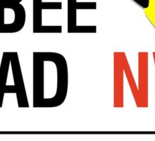 Abbee Road Sticker