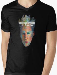 Super Ficial Mens V-Neck T-Shirt