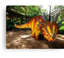 Creative Dinosaur Canvas Print