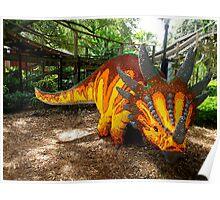 Creative Dinosaur Poster