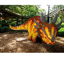 Creative Dinosaur Photographic Print