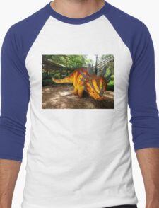 Creative Dinosaur Men's Baseball ¾ T-Shirt