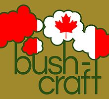 Bushcraft Canada flag by piedaydesigns