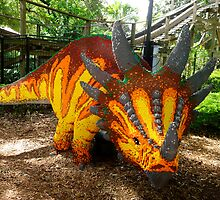 Creative Dinosaur by Cristy Hernandez