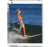 The Surfer #1 iPad Case/Skin