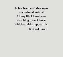 Bertrand Russell Rational Mankind T shirt Unisex T-Shirt