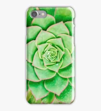 Green Flower iPhone Case/Skin