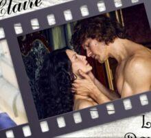 Jamie & Claire/Love, Devotion, Strength... Sticker